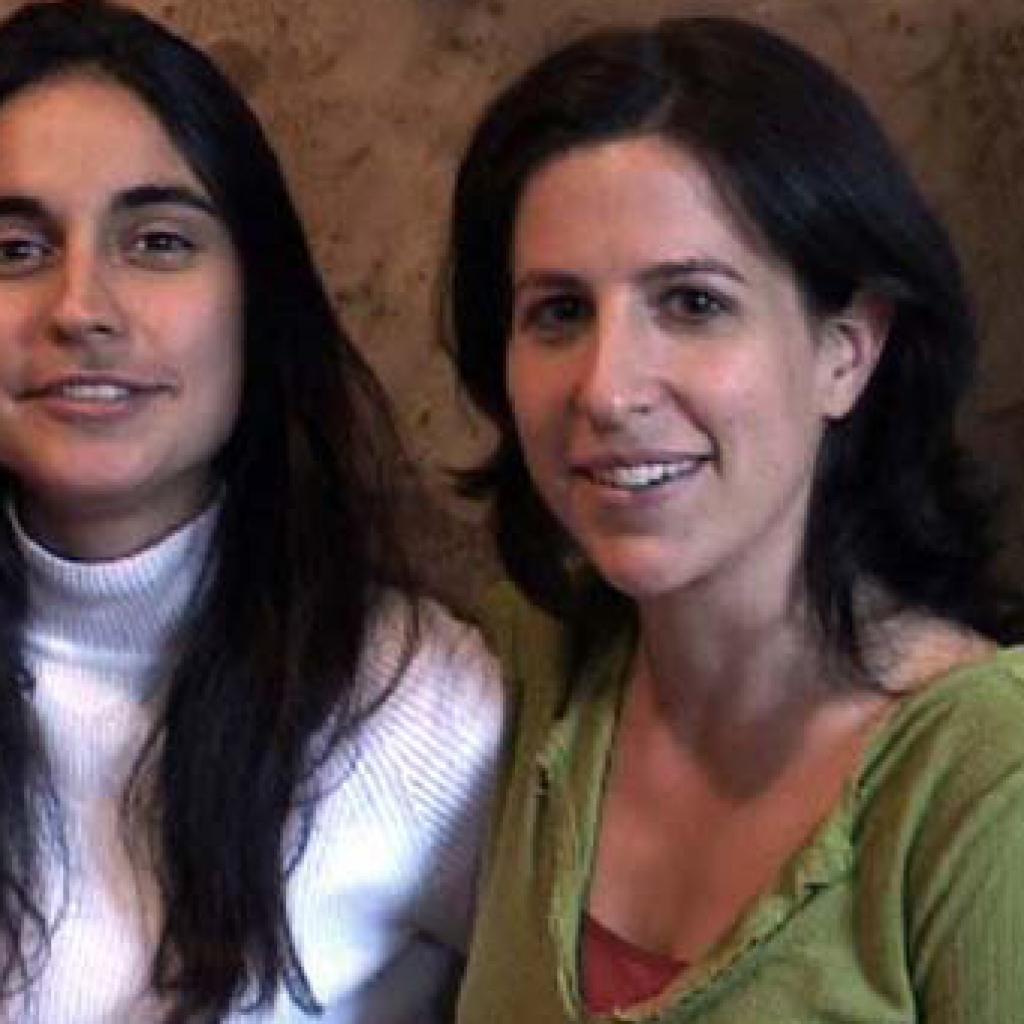 CO-DIRECTOR JULIA BACHA WITH DIRECTOR RONIT AVNI